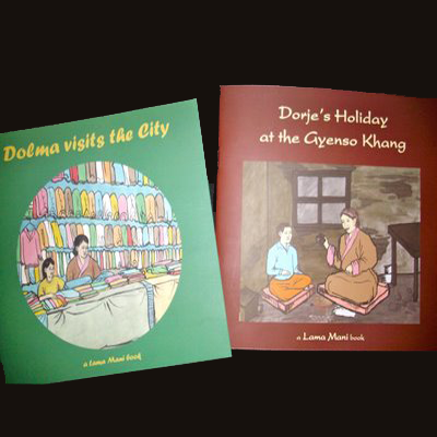 Lama Mani books by Think Tibet